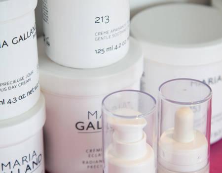 7Produits cosmétique Maria Galland Paris - Institu de beauté L'Eden à Jougne