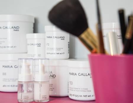 8Produits cosmétique Maria Galland Paris - Institu de beauté L'Eden à Jougne